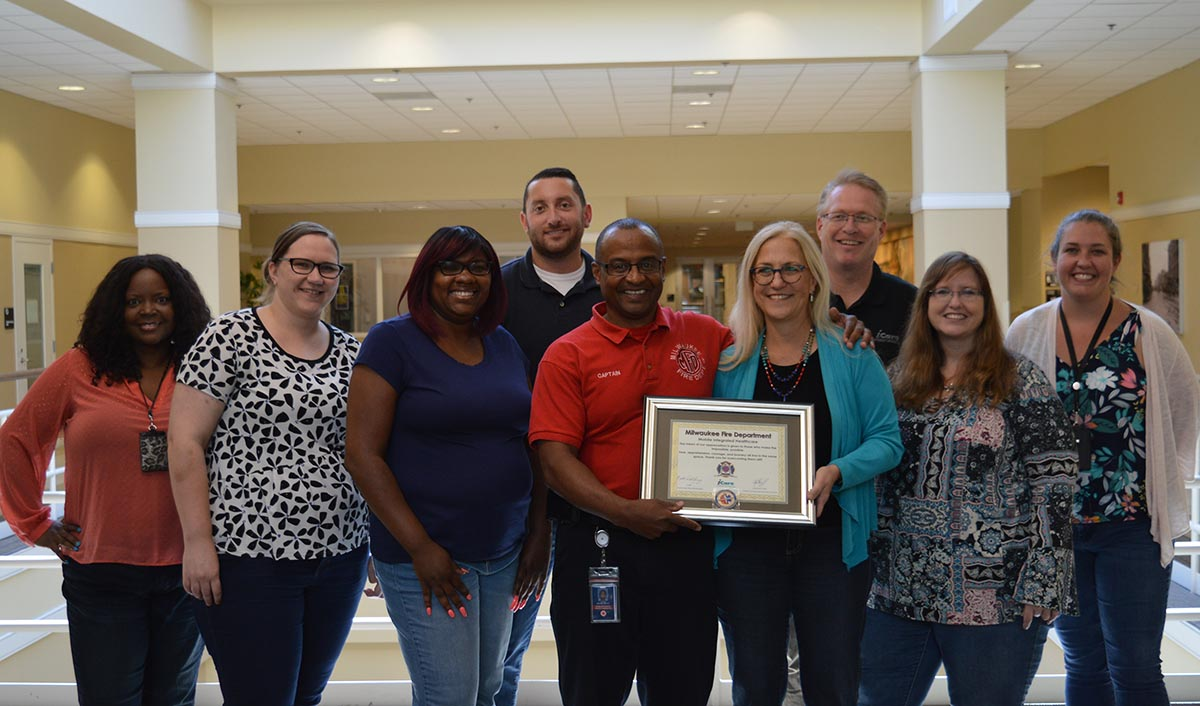 MFD's Mobile Integrated Healthcare Program commended iCare for partnership in reducing emergency room overuse and encouraging proper emergency department utilization.