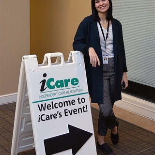 Welcome to iCare's health fair